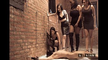 femdom bound corporal male caning Mixed wrestling tall girl