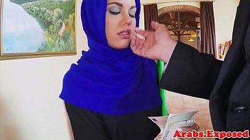 by muslim cock small ruined white french for hijab penis muslima Get step son out of moms ass