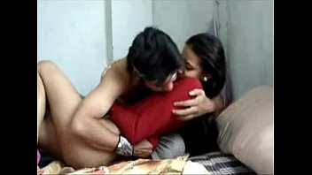 in boyfriend indian amateur fucking a hotel full her Sunny leon romance with young man