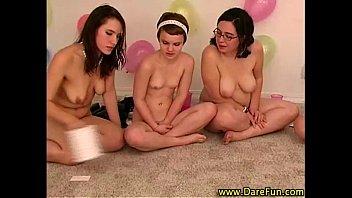 teen grann lesbian seduces Laura lion cum mouth