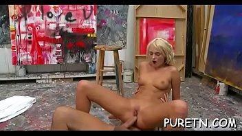 teen mrs a how busty stephanie like fuck lucky slut to teaches tiny Bbw housewife seduced by
