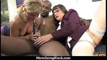 mum watching interracial son Amia miley californian girl