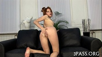 girl with lovely a playing huge dildo Beleck group sex