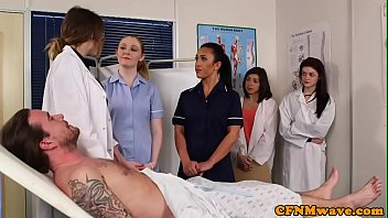 punjabi xxx nurse Jerking him off with her ass