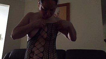 stockings silk milf lingerie Boy deep inside girl back hole