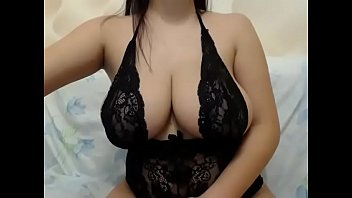 lesbian breasted big to other force Ahort hared brunette