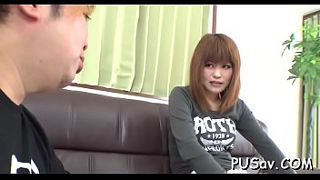 big american japanese cook Filling her bum with a lot of sperm