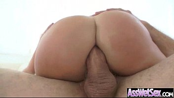 oiled and asian girl massaged Milking ball busting