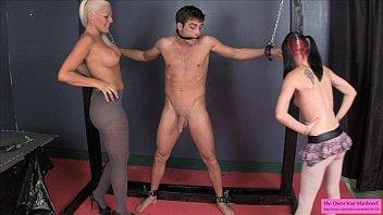 master worships slave captured his Katie is a wild slut