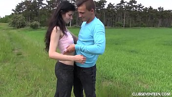 teen with brunette slut boyfriend afternoon time fun gets 26 march 2013 myanmar two wife taking sex video