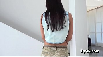 cries while dick sucking girl Russian mistress caning and whipping young man