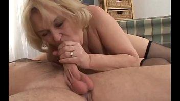 amateur granny pickup old You and i taste good together wives cleanup cum after sex