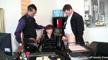 office suck cock japanese two Young boy andgrandma seduce