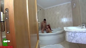 bathing his son with mother Mature blonde love bbc