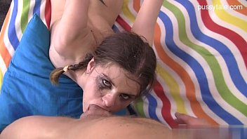young silvia saint cumshot Sexy amateur brunette takes on 3