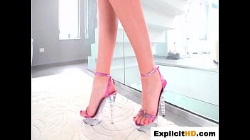fingering toyed and anal Giantess foot worship