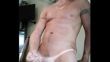 while balls cum busted Gay white boy take huge bbc