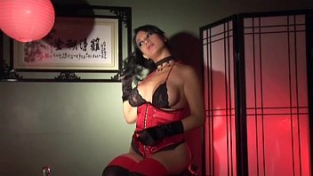 gloves latina and rubber Japanese mom and aunt threesome