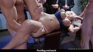 av office japanese show Father give daughter a massage