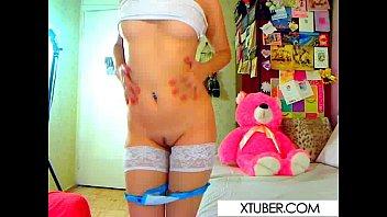 red dildo butt brunette Daysi araujo showing boobies