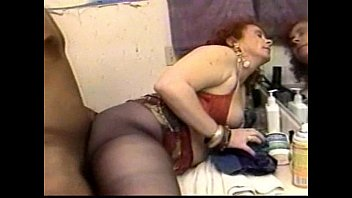 young older lesbian woman with Teen cums in mature ass