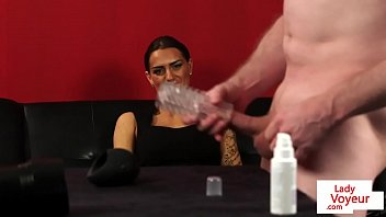 slapping bal femdom Lonely hairy housewife