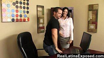 at the curvy fucks shoot latina Hidden balls massage