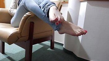 crush fish barefoot Suck silicone fucked