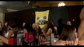 three girls get oral college together party at Kaylani lei sex download