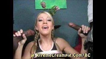 cum creampie breakfast strapon Stunning cougar stepmom joins teen couple