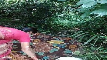 sex aunt village pragnensy telugu Satin saree aunty hanging