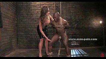 up spread femdom eagle man tied Black for sissy