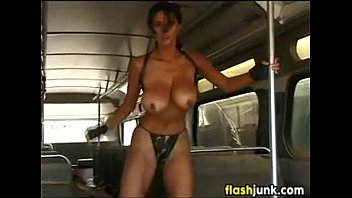 vintage in busty public strip Short videos mom and son12