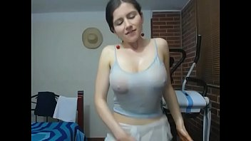teases tits big Teen squirt herself
