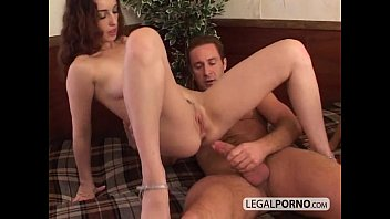 with two sexy threesome brunettes nasty Almost get caught step daughter