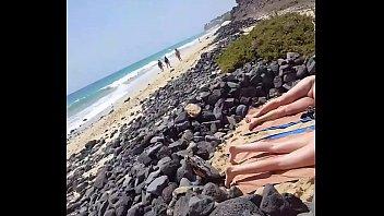 beach wife watches nude men Gipsies fucking in wood