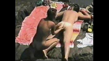 lesbian casting amateur Brazillian waxing demo