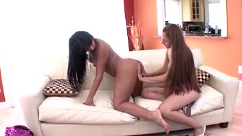 abuse teen sister Two horny black lesbians with big tits fucking each other