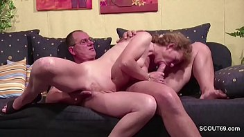 german redhead mature Student fucks teacher in his home