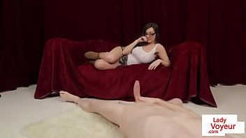 tales ging cfnm humiliate Redhead irish tied blindfolded