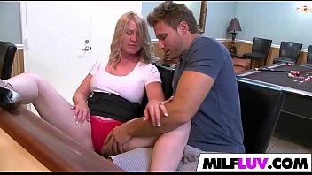 threesome thank please you milf Buxom lady in mask madison ivy