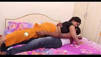 indian enjoing slutty aunty Teen couple in homemade love film