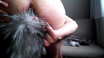 fairy kagura tail Gstring bending over