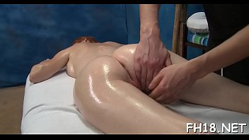 during brunette massage ejaculates a Boner at medical