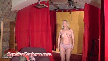 backstage golabek 2015joanna Busty brunette showing her big tits