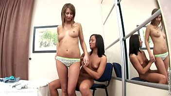 lesbian seduce real Students public toilet full sextape