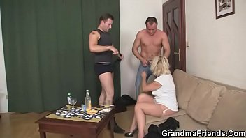 glasses mature blonde with Reality innocent ass