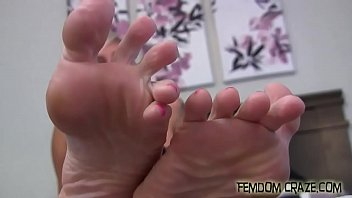 fully fashioned foot fetish stocking Big tit blond loves the taste of cock and sperm3