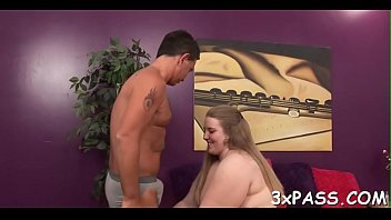 kitchen gy chubby Son wakes seduces mum sister