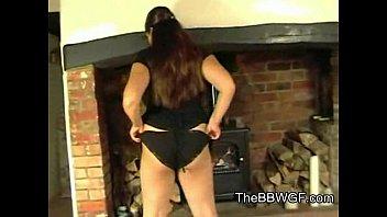 in ass cock takes cute big shemale her Black sheer pantiescum shot
